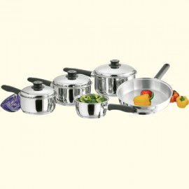 5-piece Stainless Steel Saucepan Set