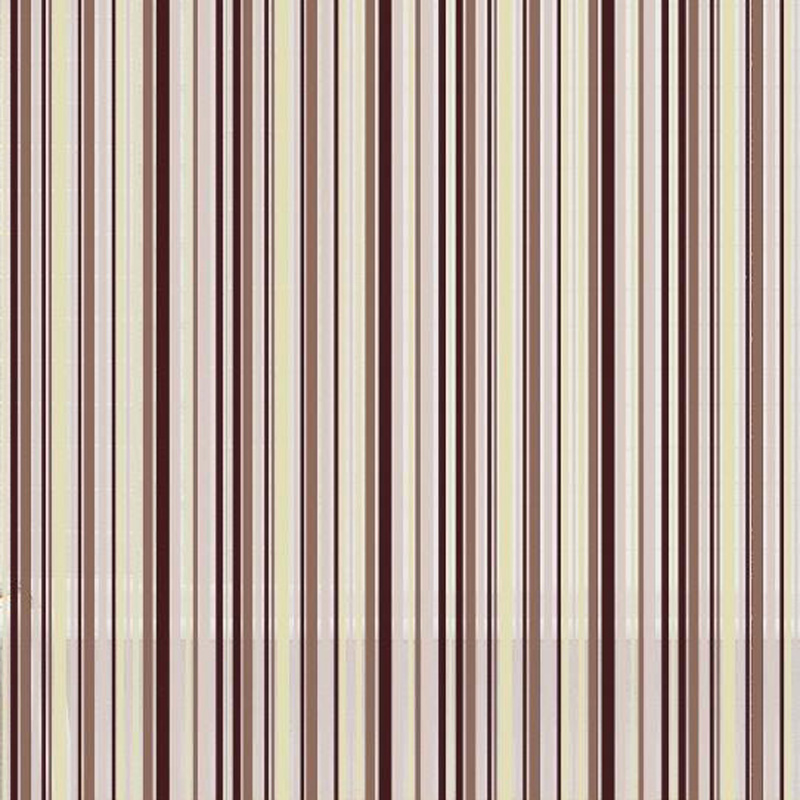 Peva Stripe Shower Curtain in Cream